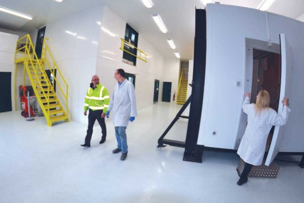 Technology and Performance centre with a view of the hydrothermal chamber