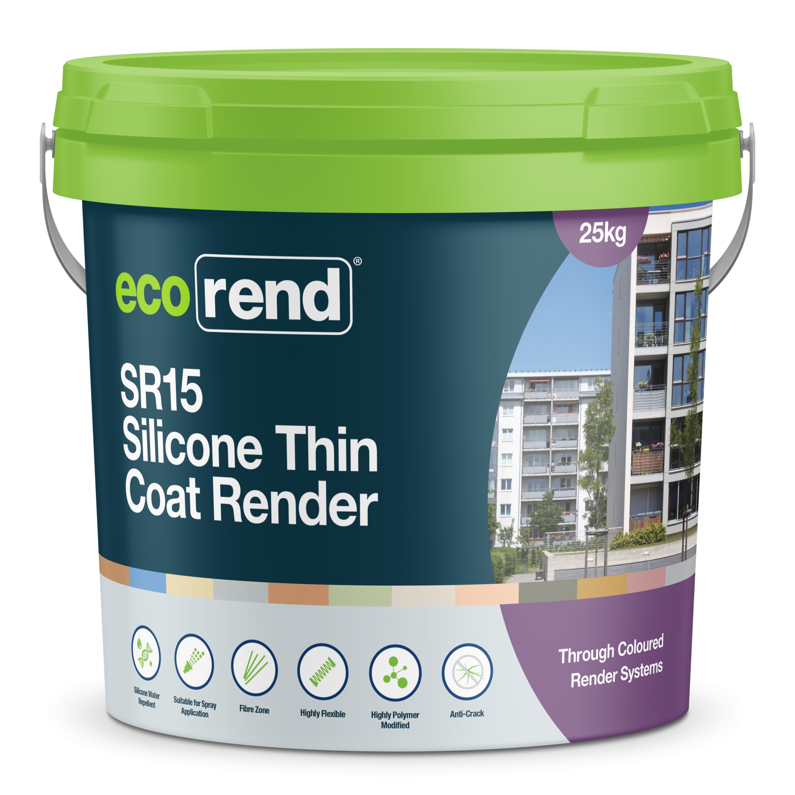 SR15 Silicone Thin Coat Render System | Thin coat render