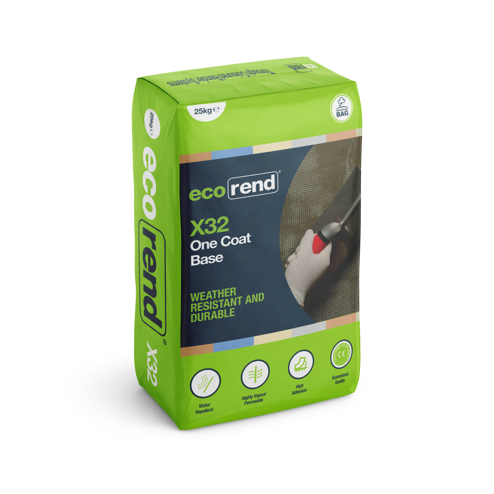 Ecorend X32 One Coat Base 25kg bag