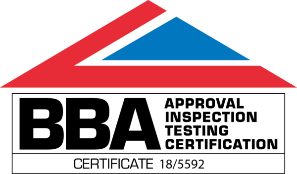 British Board of Agrement Logo including Certificate number 18/5592