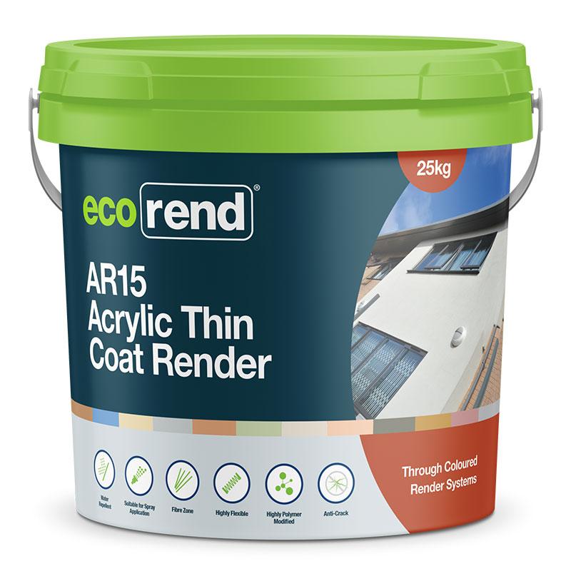 AR15 – Acrylic Thin Coat Render – Anti-Crack