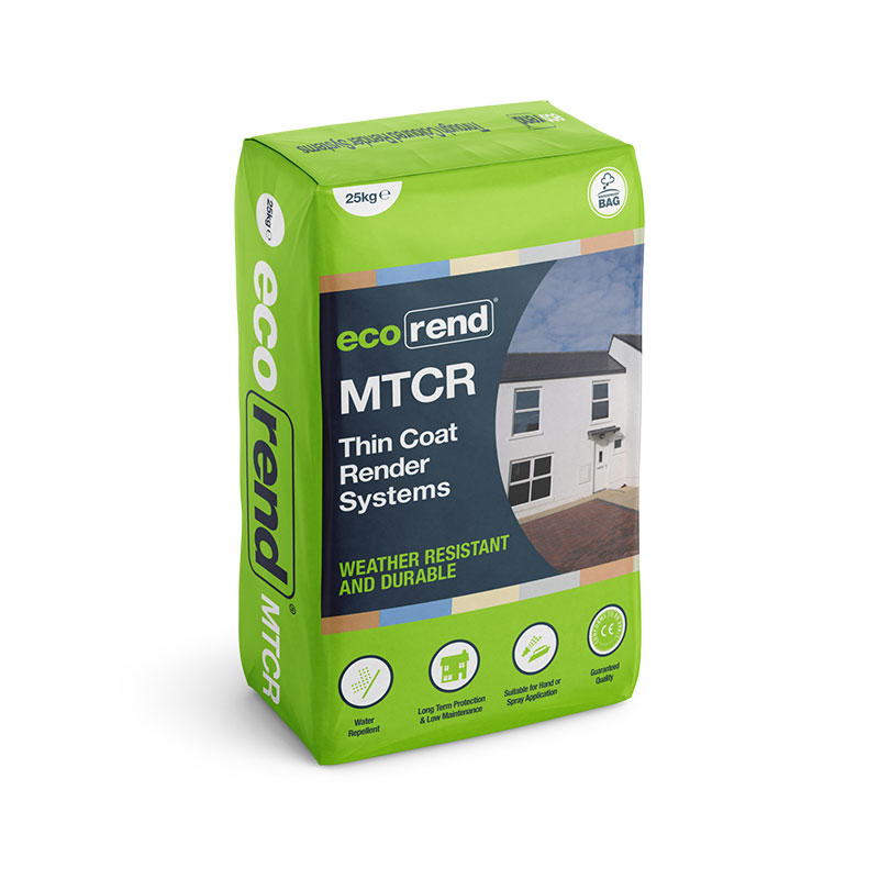 MTCR – Mineral Thin Coat Render – Colourfast